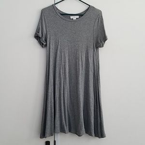 Light grey stretchy dress